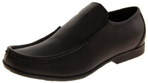 De Enduit L'école Chaussures Formelle Noir Cuir Garçons Gola 0mnPyvN8wO