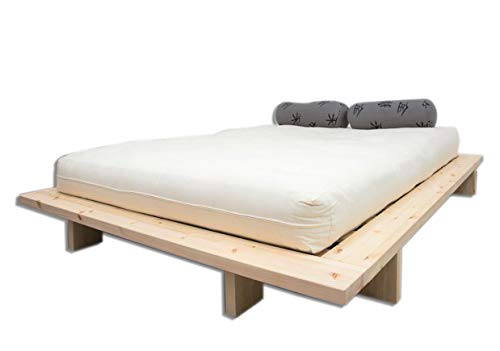 Futon On Line Cama Japan, Natural, 140 x 200 cm.