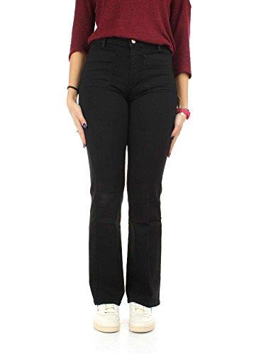 Wrangler W233GQ111 Jeans Donna Retro Black
