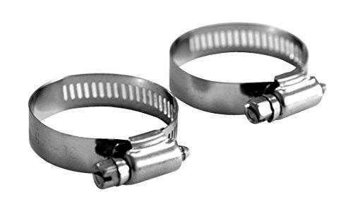 Steinbach Fittinge para abrazadera de manguera doble de plata de 32 mm/38 mm de diámetro juego de 2