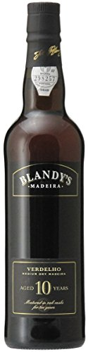 Madeira Wine Company Blandy's Madeira MEDIUM DRY 10 Years Old Verdelho 0.50 Liter