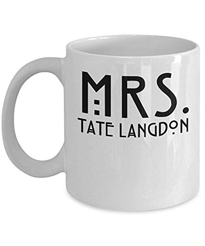 MRS. Tate Langdon - by Trinkets & Novelty - This 11oz American Horror Story Mug is The Perfect American Horror Story Merchandise Gift for Any Fan of American Horror Story Asylum