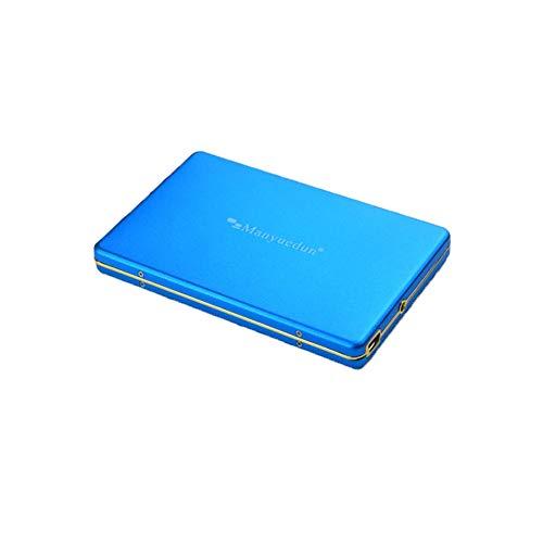 Gpan 1 TB Tragbare Externe Festplatte USB3.0 Datenspeicherung und Sicherung Geeignet für PC MAC,Blue,500GB