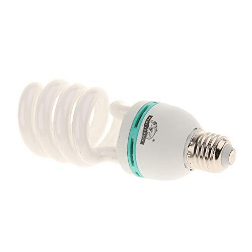 perfk E27 26W Terrarienlampe Tageslichtlampe UVB Lampe für Reptilien Schildkröte -
