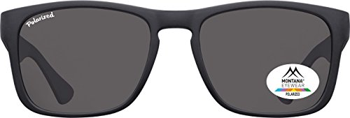 Montana Eyewear Sunoptic MP39 Sonnenbrille in schwarz, inklusive Stoffbeutel