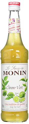 Monin Lime Syrup 70cl Bottle - Lime Syrup Flavouring for Cocktails