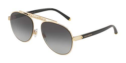 Ray-Ban Damen 0DG2235 Sonnenbrille, Blau (Gold), 57.0