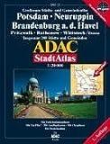 ADAC Stadtatlas Potsdam, Neuruppin, Brandenburg a.d. Havel