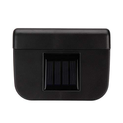 Auto Fensterventilator 5,5 * 6 cm Umweltkühler Solarventilator mit Gummistreifen Auto Styling Solar Energie Zubehör