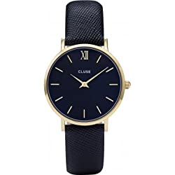 Cluse Minuit Gold/Midnight Blue Ladies Watch CL30014