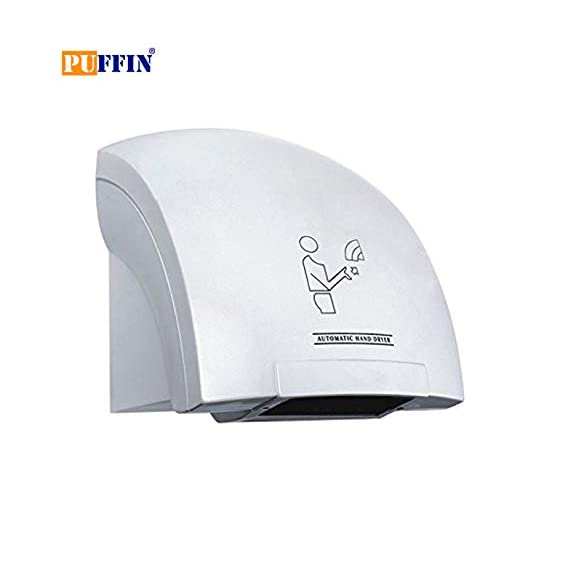 Puffin ABS Fast Automatic Sensor High Jet Speed Hand Dryer (24 cm X 23 cm X 24, White)