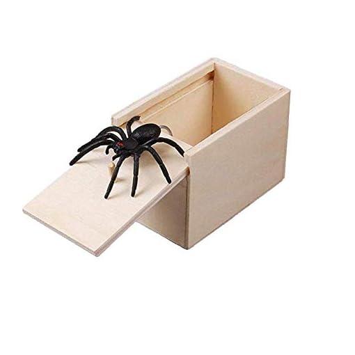 Zwinkle-Spinnenbox-Tricky-Spielzeug-Spinnen-Box-aus-Holz-Spinnen-Schelmisches-Spinnen-Spielzeug-Erschrecken-Sie-Box-Aprilscherz-Spielzeug-Einzigartige-Geschenke-fr-Freunde-91-x-61-x-65-cm