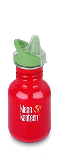 Klean Kanteen Edelstahl Kinderflasche mit Sippy Cap 355 ml, Farm House, 8020193