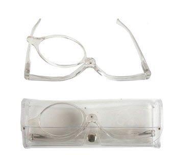 Schminkbrille Klar Sehstärke 3,0 dpt Make Up Brille Schminkhilfe zum schminken Karneval Schminke Kostüm Verkleidung