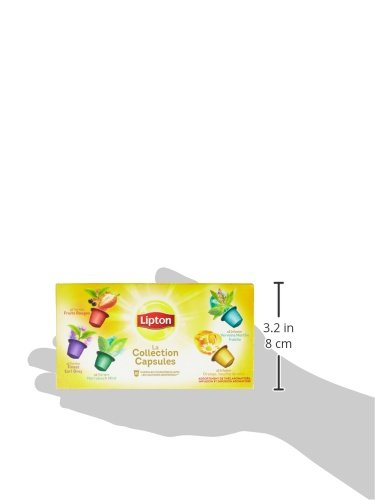 lipton th s et infusions la collection capsule coffret 10 capsules 25g compatibles. Black Bedroom Furniture Sets. Home Design Ideas