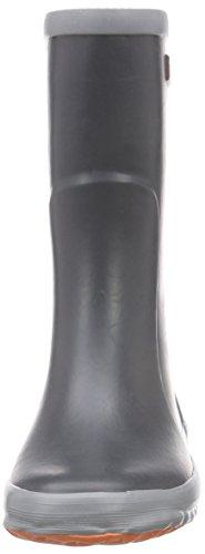 Bergstein Bn Colorboota, Bottes en caoutchouc de hauteur moyenne, doublure froide mixte enfant Gris - Grau (Antracite)