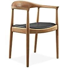 Sessel Stuhl Armlehnenstuhl Replik The Chair Hans Wegner Designer  Vetrostyle Braun