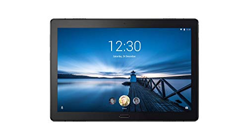 Lenovo Tab P10 25,5 cm (10,1 Zoll Full HD IPS Touch) Tablet-PC (Qualcomm Snapdragon 450 Octa-Core, 3GB RAM, 32GB eMCP, Wi-Fi, Android 8.1) schwarz