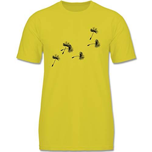 Up to Date Kind - Pusteblume Löwenzahn Samen - 152-164 (12-14 Jahre) - Gelb - F140K - Jungen T-Shirt