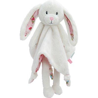 LITTLE DUTCH 4302 Kuscheltuch Hase groß pink blossom