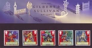 Gilbert Sullivan &Geschenkbox Stempel, 1992, No.229