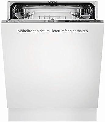AEG FSB52600Z Totalmente integrado 13cubiertos A++ lavavajilla - Lavavajillas (Totalmente integrado, Blanco, Tamaño completo (60 cm), Gris, Botones, Frío, Caliente)