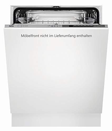 AEG FSB52600Z Vollintegrierter-Geschirrspüler / 60cm / AirDry - perfekte Trocknungsergebnisse / energiesparend / Besteckkorb / Glasprogramm / Beladungserkennung / Intensivprogramm / Kurzprogramm / St