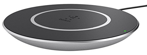 Belkin BOOST↑UP Wireless Charging Pad Interior Negro - Cargador (Interior, Smartphone, Corriente alterna, Samsung Galaxy Note 5, Galaxy S7, S7 Edge, S6 edge+, S6 edge, S6, and other Qi compatible devices, Contacto, Negro)
