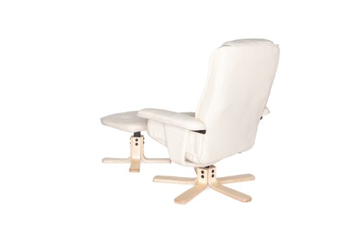 Amstyle Comfort Relaxsessel mit Hocker - 13