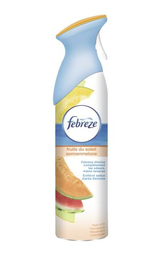 Febreze Dsodorisant Spray Plaisir d'air Parfum Fruit du Soleil 300 ml - Lot de 3