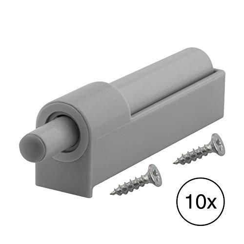 LouMaxx Softclose Türdämpfer 10er Set - Schubladendämpfer für Küchenschrank/Schrank zum Nachrüsten