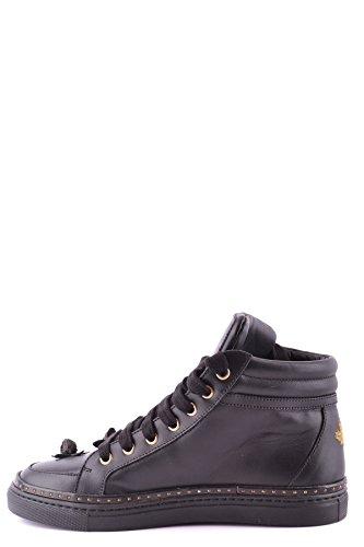 Sneakers Dsquared Fiori Alta Nero