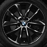 Original BMW Alufelge X3 F25 V-Speiche 307 schwarz in 18 Zoll