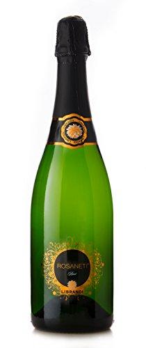 Librandi vino spumante brut rosé rosaneti - 2015-3 bottiglie da 750 ml