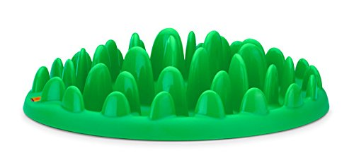 Karlie Northmate interaktiver Napf, 40 x 30 x 10 cm, grün