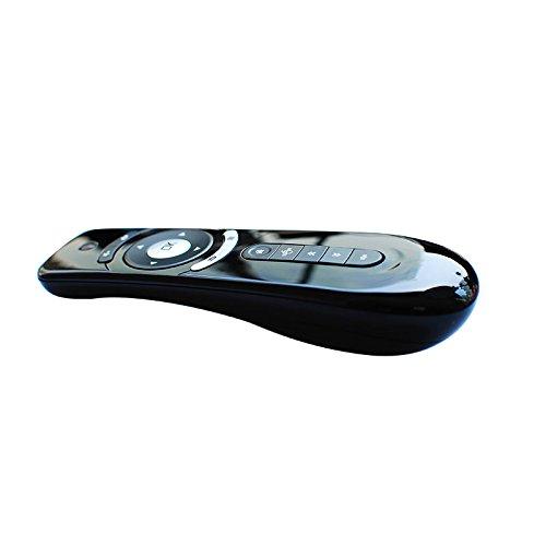 Tiptiper Air Remote Mouse 2.4GHz Mini ratón inalámbrico Keyboard receptor incorporado para Android TV Box, Windows, Mac OS