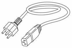 Datamax O'Neil 32-2375-01 - CABLE-MAIN-SWISS BLACK -