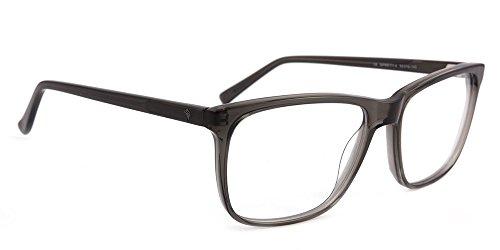 rille SANTO Series, unisex Brillenfassung für Frauen & Männer (GREY) (Santa Brille)
