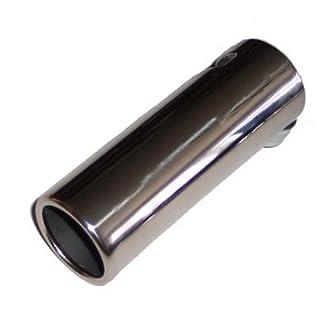 Etech Edelstahl Endrohre Schnitt, große 55–65mm