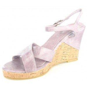 Top or - Sandales femme violettes - 1034-12 Violet