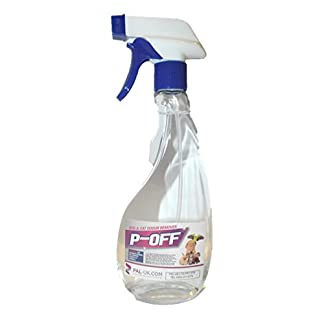 P-Off Urine Smell Remover - Enzyme Powered Odour Cleaner Gets Dog and Cat Urine Off - Carpet Cleaner + Pet Stain Remover 10
