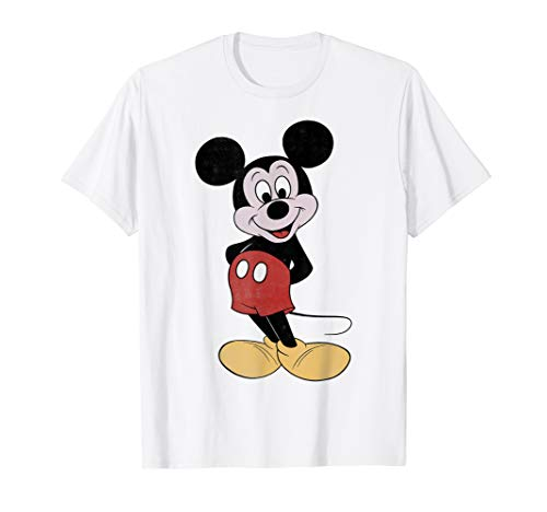 Disney Mickey Mouse Vintage Mickey Pose Graphic T-Shirt -