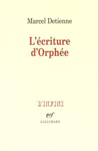 L'Ecriture d'Orphée
