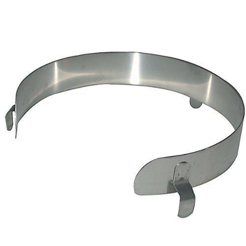Kinsman Unternehmen 15216Edelstahl Platte GUARD, passt 22,9cm–27,9cm Durchmesser Teller, groß