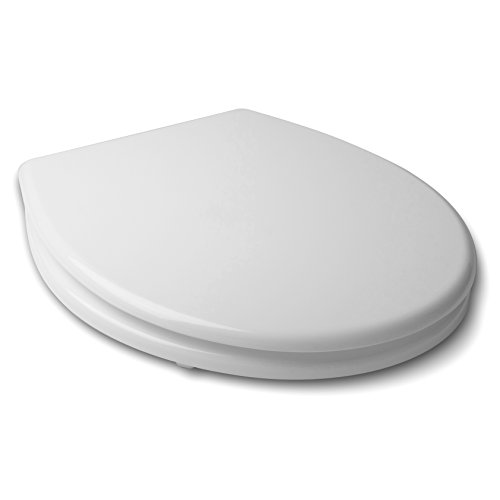 TATAY 4402001 - Basic Tapa y asiento para inodoro en MDF, Blanco, 40.4 x...