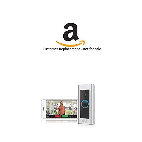 Amazon Echo Spot - Black and Ring Video Doorbell Pro