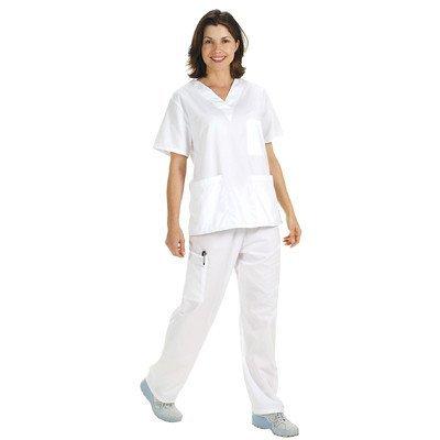 Scrub Top Hose (NCD Medical/Prestige Medical  50409-2 pants-white-large)