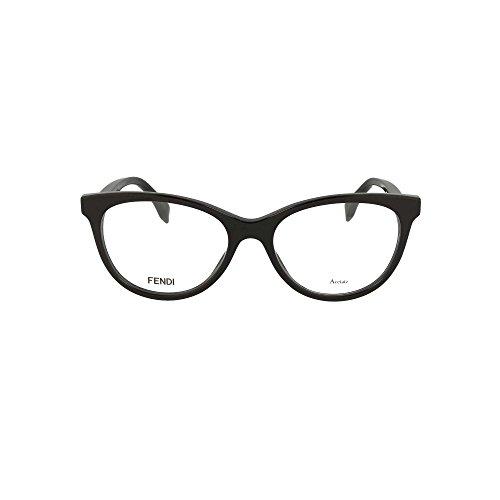 Fendi - FENDI CUBE FF 0201, Schmetterling, Acetat, Damenbrillen, BLACK(807), 52/17/140