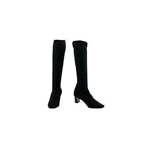 Braderie - Bottes Femme Noir Stretch - Pamela - Angelina ® N-Noir
