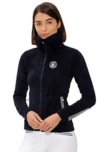 SPOOKS Damen Filsjacke Fleecejacke, leichte Damenjacke, New Lexi Fleece Navy XL